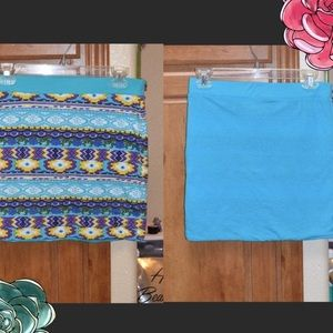 Skirts - Reversible Mini Skirt